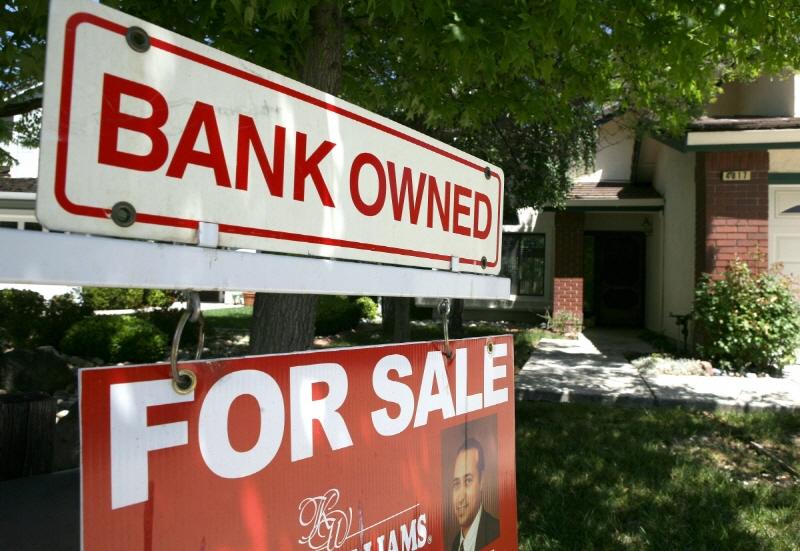 2009년 금융위기 당시 매물로 나온 미국의 한 주택.