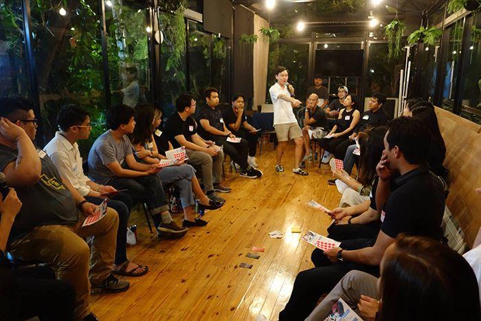 방콕의 스타트업 공동 업무공간