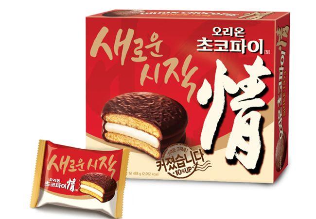 초코파이 + 감자왕국 = 오리온