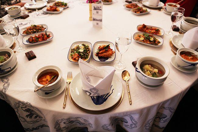태국의 향신료 가득한 식탁