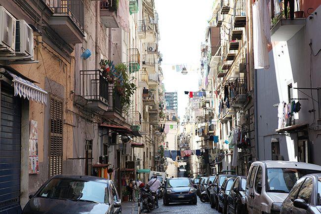 나폴리의 거리