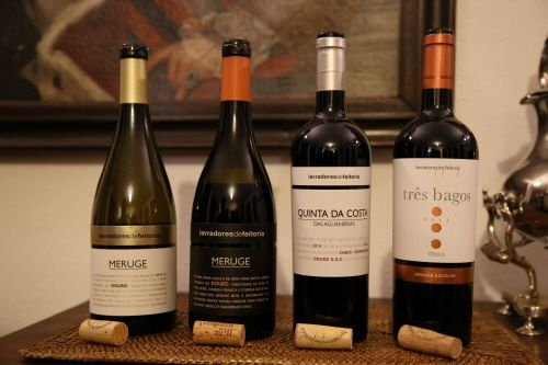 라브라도레스 드 페이토리아의 와인들