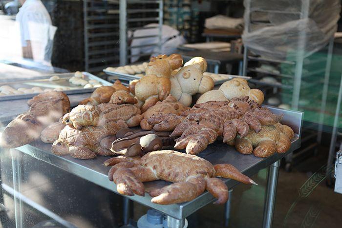 샌프란시스코의 빵집 BOUDIN의 빵들