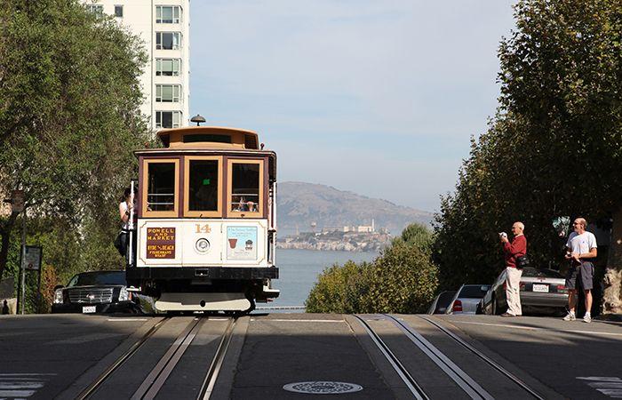샌프란시스코의 풍경-케이블카