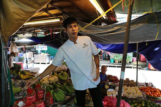 방콕의 재래 시장 투어