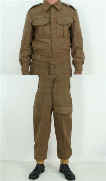1937년형 전투복을 복원한 모습 /출처=이베이