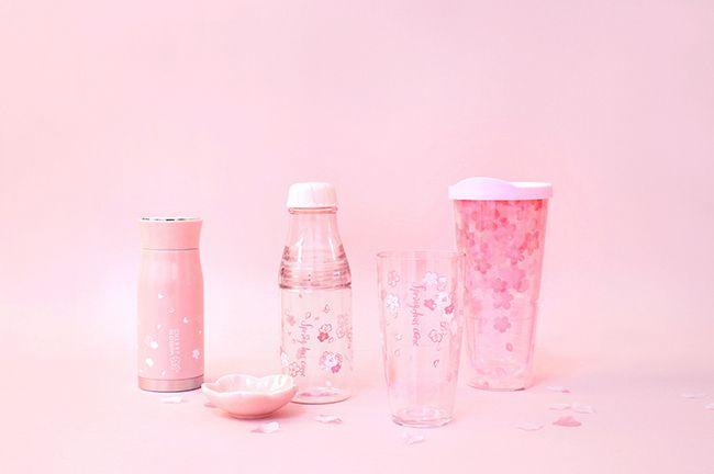[다이소] 봄봄시리즈 텀블러와 유리병, 컵 등