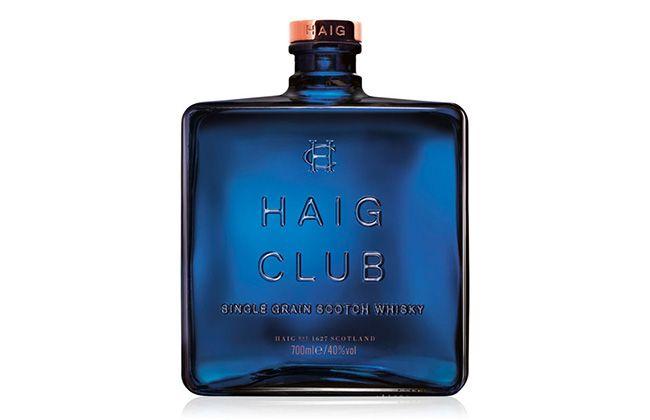 디아지오는 싱글 그레인 스카치위스키 헤이그클럽의 술병을 마치 향수병을 연상케 할 만큼 훌륭하게 디자인했다. /사진=홈페이지 캡처