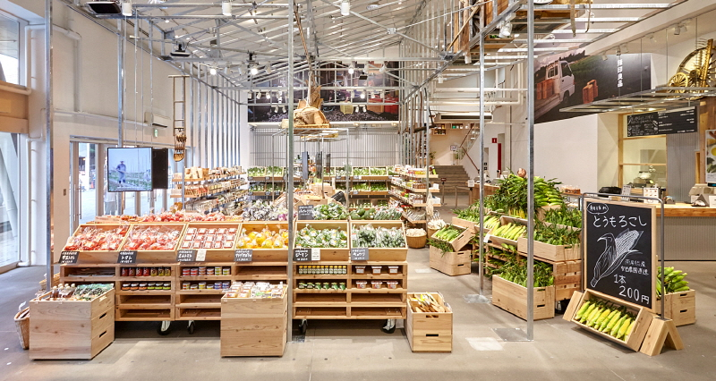 무지 일본 도쿄 유라쿠초점 식품매장
