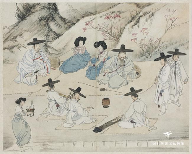 신윤복의 그림 속 이 모습은 2018년 대한민국 어딘가와 비슷합니다 /출처=간송미술문화재단