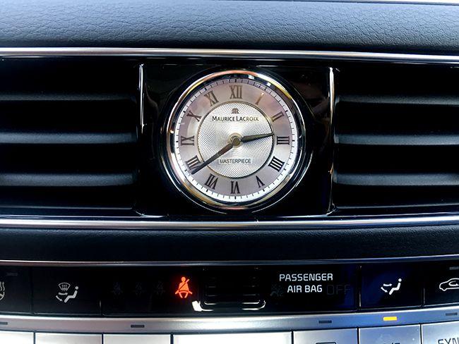 기아차가 스위스 시계 브랜드인