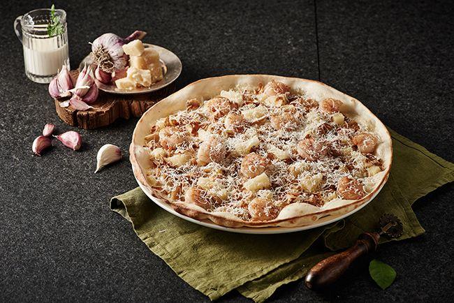 매드포갈릭 갈릭 스노잉 피자