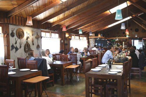 칠레 중부 지방의 대중적인 레스토랑