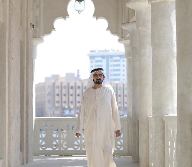 세이크 모하메드 알막툼(Sheikh Mohammed bin Rashid Al Maktoum) UAE 총리 및 두바이 왕