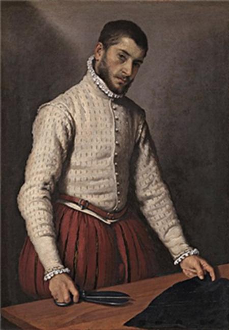 """그림 속 인물이 입고 있는 상의가 더블렛이다. 지암바티스타 모로니 작, """"자화상"""" (1570년) /출처=위키피디아"""