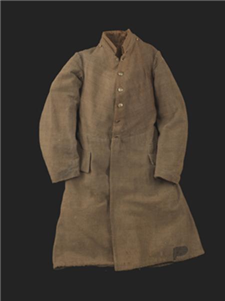 남북전쟁 당시 미 남군의 프록 코트 /출처=미 역사박물관 홈페이지