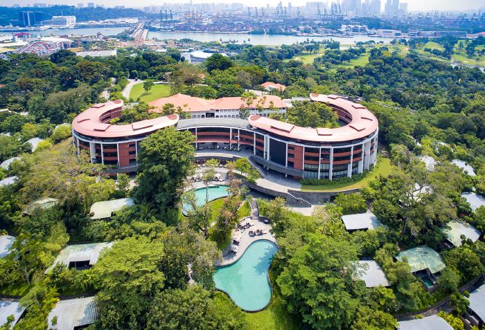 싱가포르 센토사 섬의