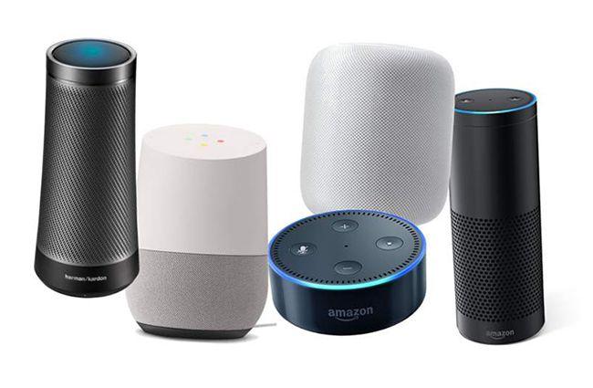판매되고 있는 주요 AI 스피커 제품들