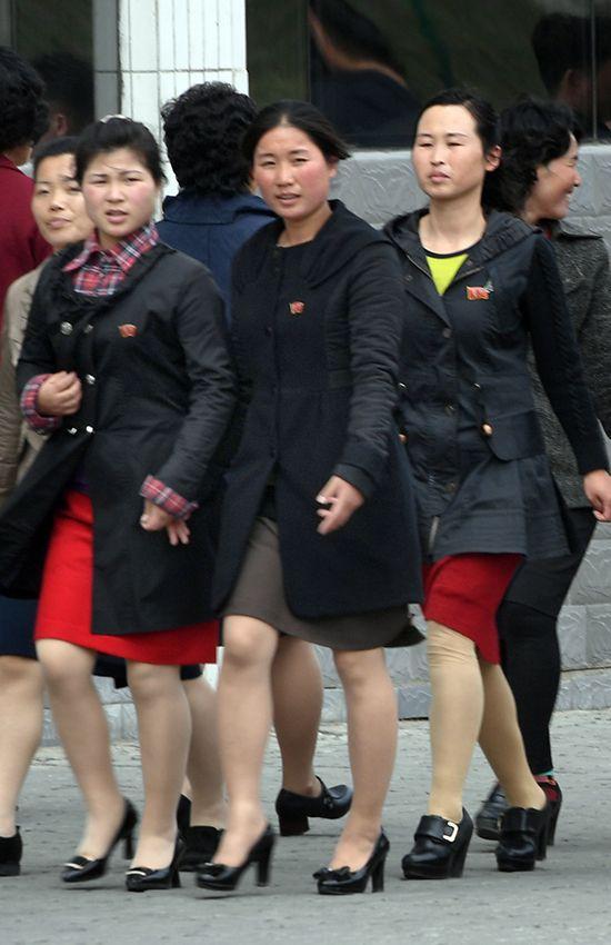 북한 평양 여성들 /사진=평양공연 사진공동취재단