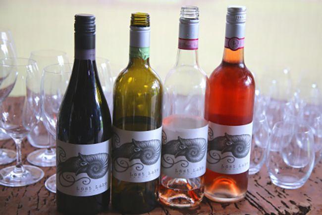 로스트 레이크 와이너리의 와인들