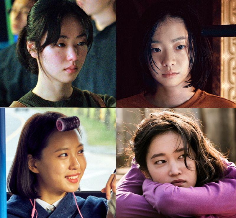 전여빈, 김다미, 전종서, 고민시(왼쪽 위부터 시계방향)