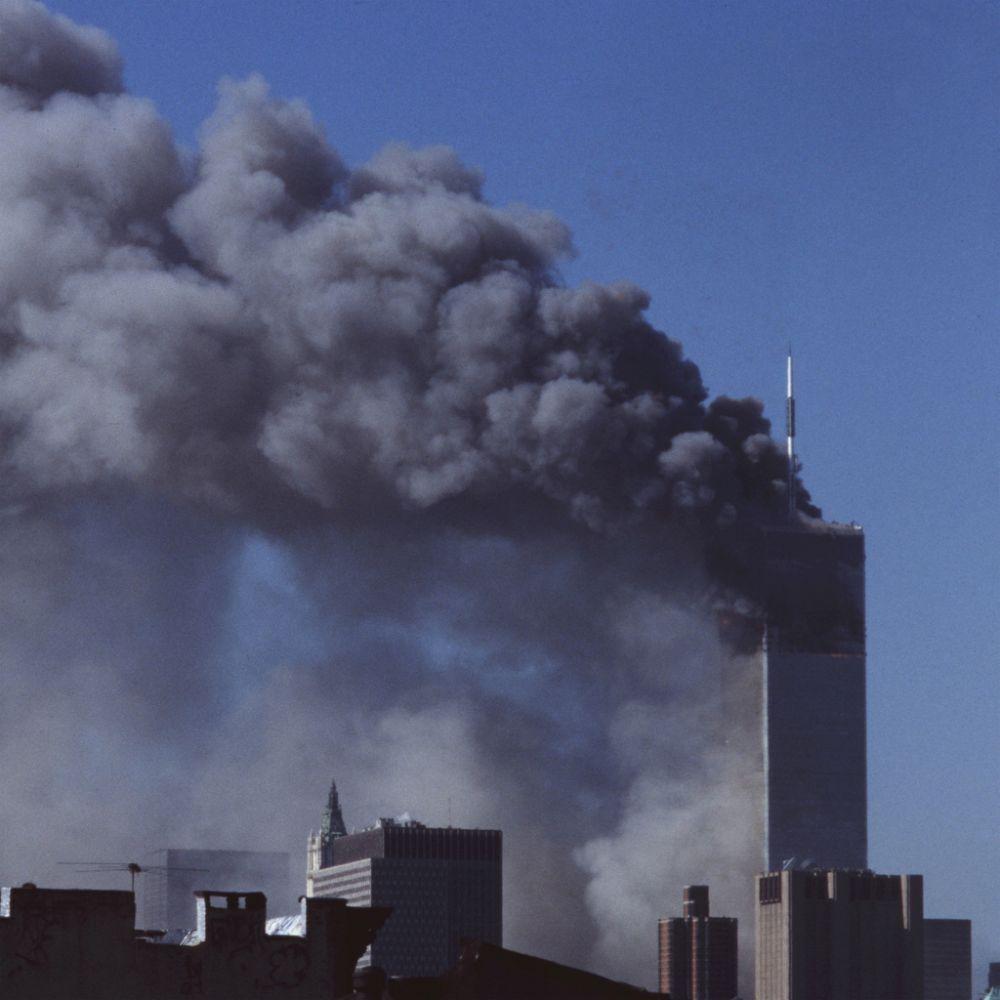 2001년 9.11 테러 당시 세계무역센터(WTC)의 모습. /사진 제공=플리커