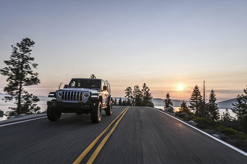 Jeep Wrangler JL Rubicon Trail 2018