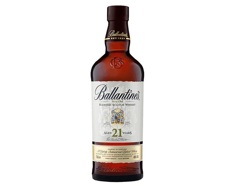 블렌디드 위스키 발렌타인 21. 준수한 맛에 높은 브랜드 가치를 갖고 있어 어떤 술자리에 내놓아도 손색이 없다. /사진=홈페이지 캡처