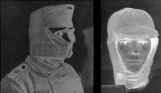 제2차 세계대전기 독일군 동계 모자(좌)와 미 육군 동계 모자(우). /출처=https://www.ibiblio.org/hyperwar/Germany/HB/HB-9.html