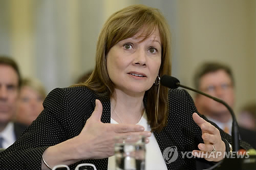 메리 바라 제너럴모터스(GM) 회장 /사진=연합뉴스