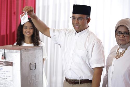 아니에스 바스웨단 인도네시아 자카르타 주지사 당선인 [사진=AP]