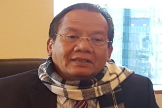 롱키 장골라 인도네시아 술라웨시섬 주지사가 서울 중구 소공동 롯데호텔에서 매일경제신문과 인터뷰를 하고 있다.