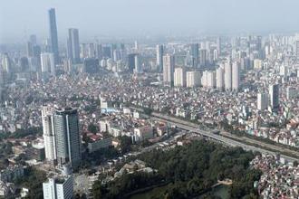 초고층 건물들이 올라가는 베트남 수도 하노이 전경.<사진제공=매경DB>