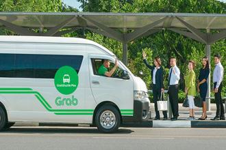 동남아 최대 승차공유업체 그랩이 최근 선보인 그랩셔틀. <사진제공=그랩>