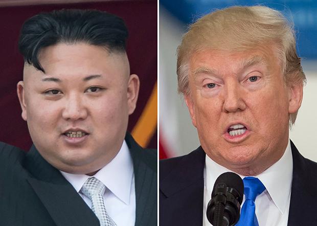 도널드 트럼프 미국 대통령(오른쪽)과 김정은 북한 노동당 위원장[사진=연합뉴스]