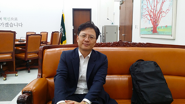 장진영 국민의당 최고위원[사진=윤범기 기자]