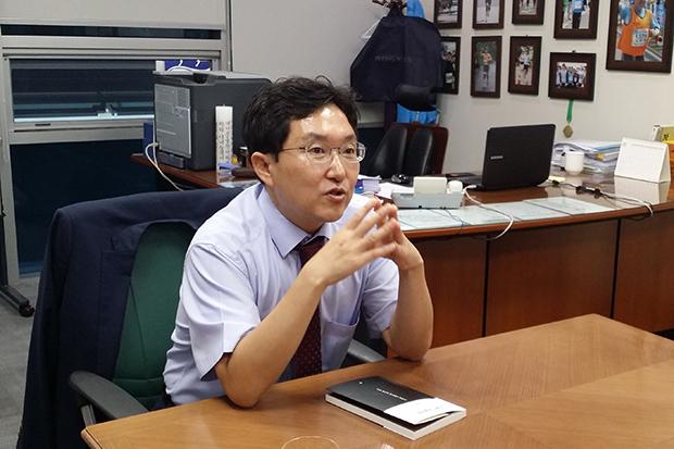 김용태 바른정당 의원[사진=윤범기기자]