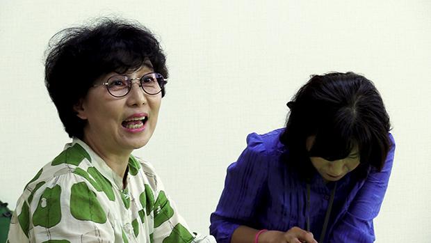 강서지역 특수학교 설립을 위해 장애학생을 둔 학부모들과 함께  활동하고있는 조부용 씨(57)[사진=김정범 기자 / 조선희 인턴기자]
