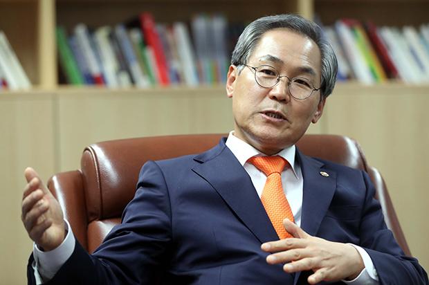 러시아 대사 내정된 우윤근 국회 사무처장[사진=김호영기자]