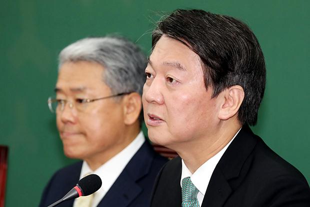 안철수 국민의당 대표가 22일 국회에서 열린 최고위원회의에서 발언하고있다.[사진=김호영기자]