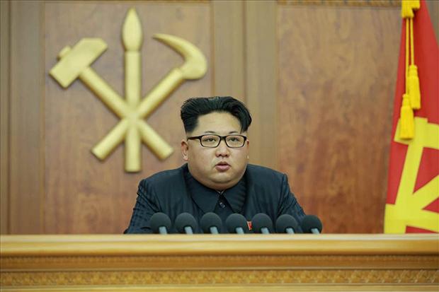 2016.1.1 김정은의 신년사[사진=연합뉴스]