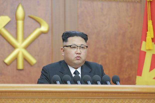2017.1.1 김정은의 신년사[사진=연합뉴스]