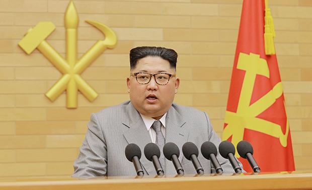 2018.1.1 김정은의 신년사[사진=연합뉴스]