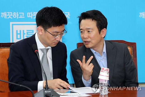김세연 의원과 남경필 경기도 지사 [사진=연합뉴스]
