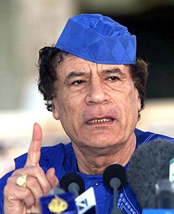 무아마르 카다피 전 대통령[사진=매경DB]