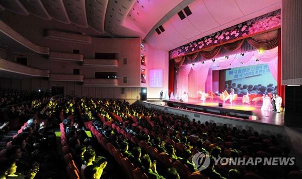 북한 평양대극장 자료화면 [사진=연합뉴스]