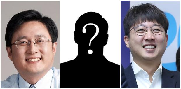 좌측부터 김성환 전 노원구청장, 이준석 당협위원장[사진=연합뉴스]