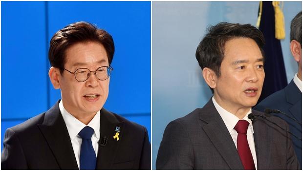 경기도지사에 도전하는 이재명 더불어민주당 후보, 남경필 자유한국당 후보[사진=연합뉴스]