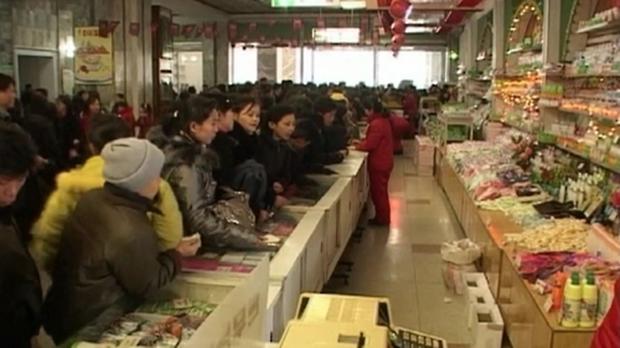 북한 장마당 [사진=연합뉴스]