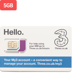 Three Mobile 5GB